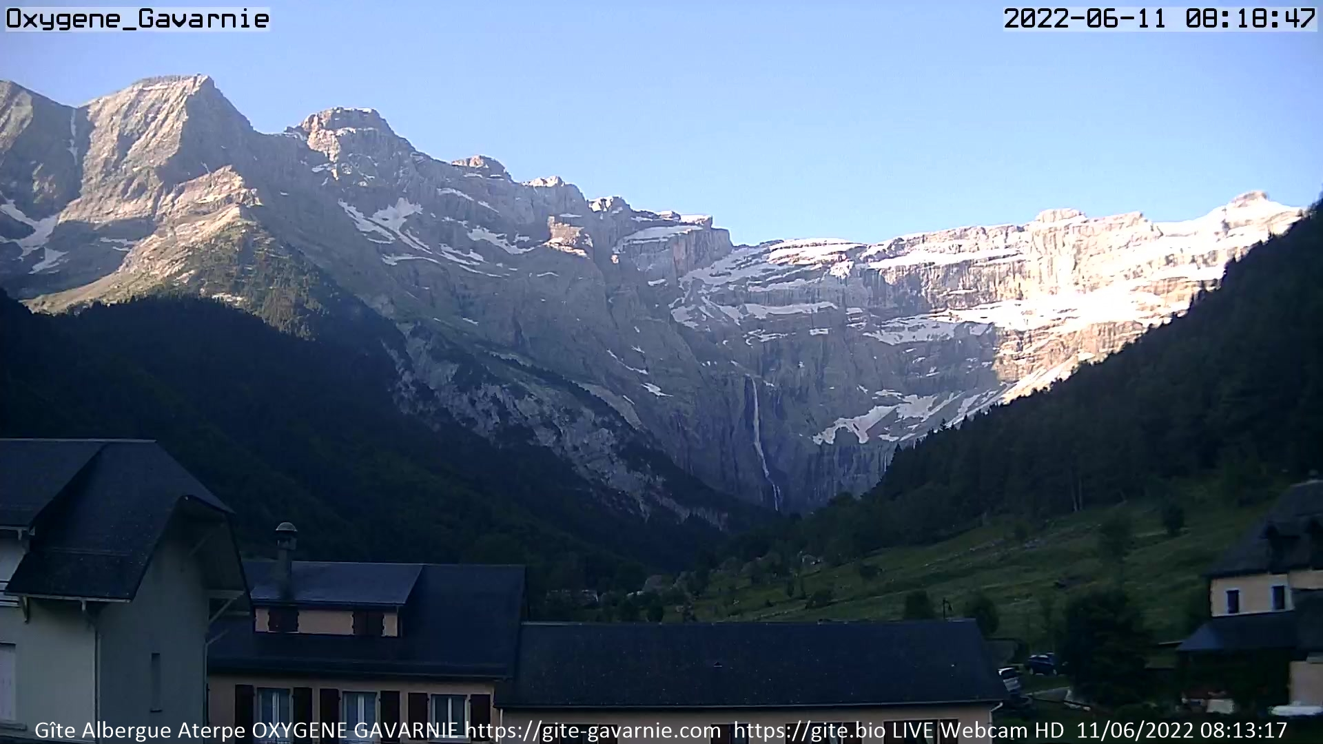 Webcams de Gavarnie-Gèdre